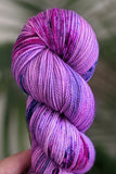 Pink Nebula - Vibrant 80/20 - Fingering Weight