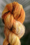 Toasted Sunrise - Suri Alpaca Lace - Lace Weight