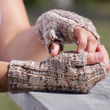 In Stock - Sea of Flames - Hat and Mittens Set Kit- Julie Ann Knitter