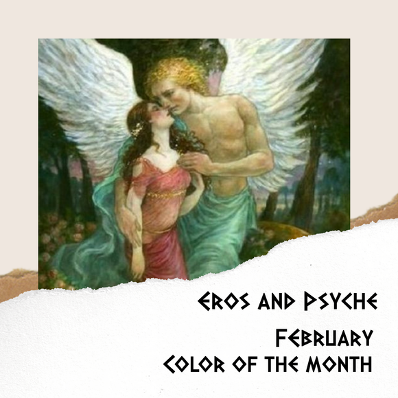 Mythology Color of the Month - February - Eros and Psyche