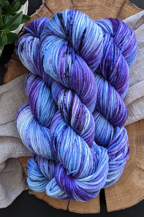 Italian Plum - Merino Squish - Bulky Weight