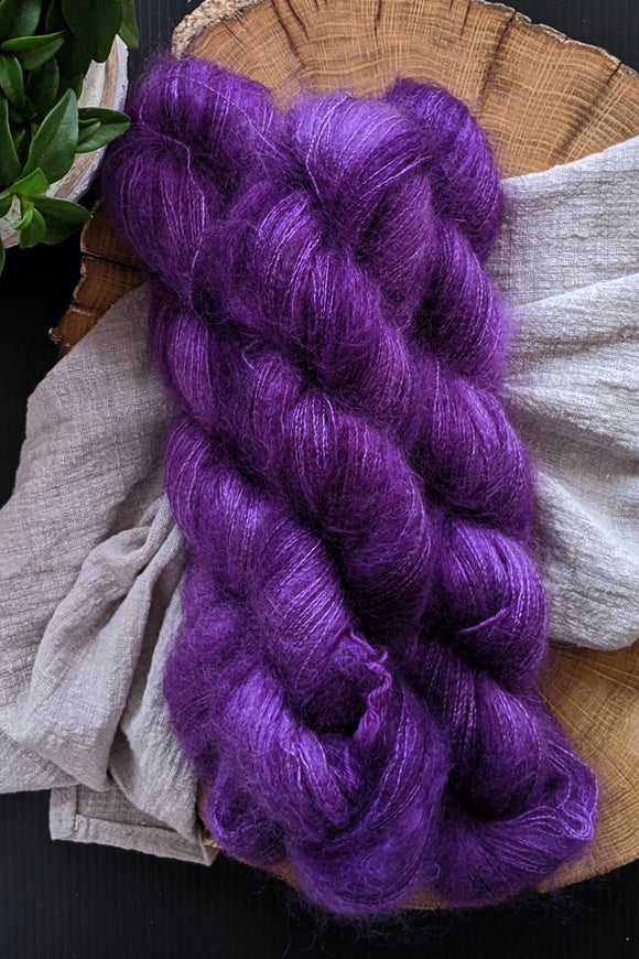 Purple Haze - Mohair Lace - Lace Weight