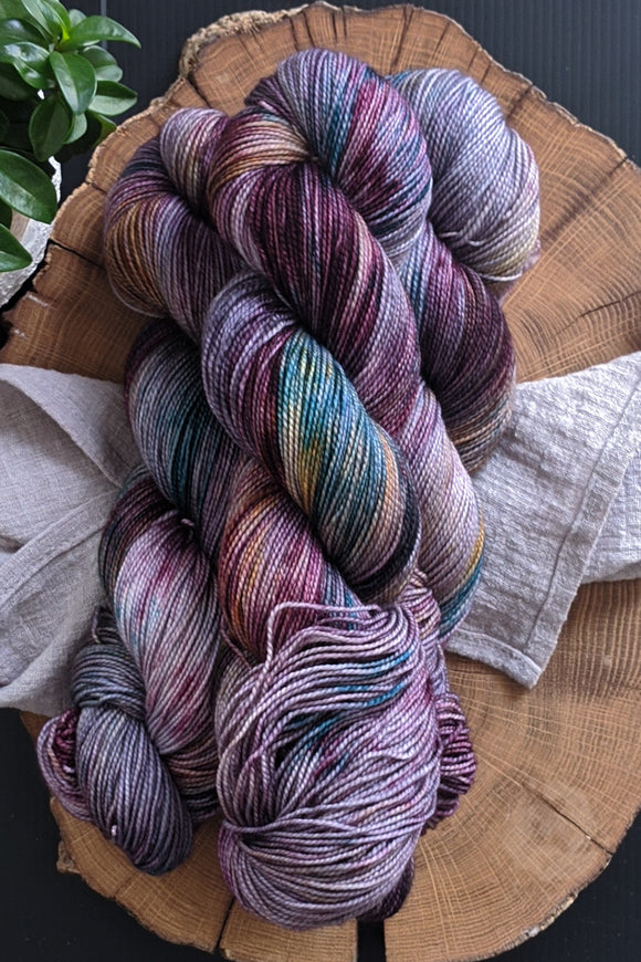 All Hallows Eve - Vibrant 80/20 - Fingering Weight