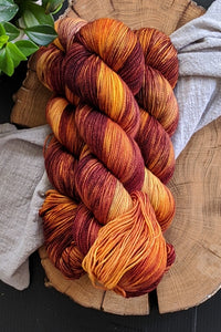 Falling Leaves - Vibrant 80/20 - Fingering Weight