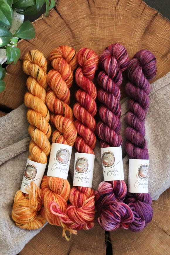 Mini Skein Set - Classic Merino Fingering