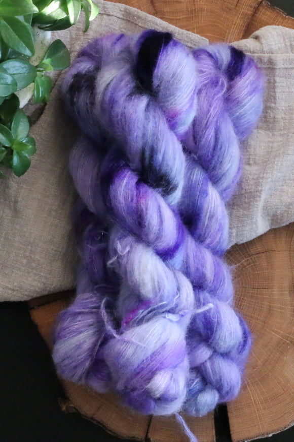 Italian Plum - Suri Alpaca Lace - Lace Weight