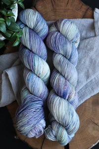 Spring Crocus - Vibrant 80/20 - Fingering Weight