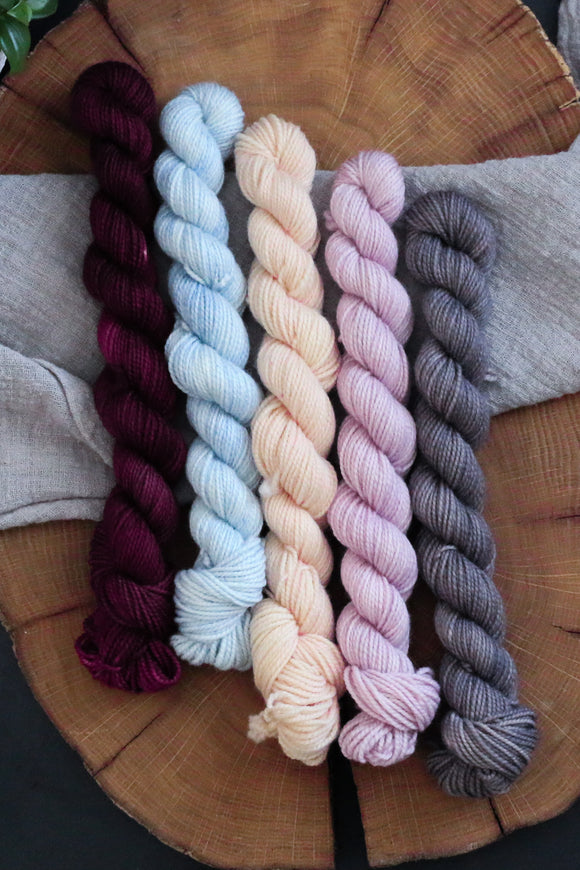 Mini Skein Set - Spring Tonals