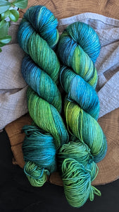 Blue Yonder - Vibrant 80/20 - Fingering Weight