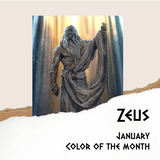 Mythology Color of the Month - January