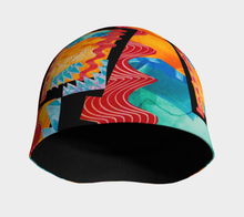 Load image into Gallery viewer, Beanie hat/cap--Thunderstorm Collage