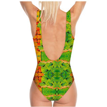 Load image into Gallery viewer, Swimsuit, bodysuit, dancewear--Mosaic Garden Collage