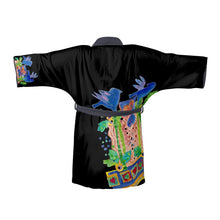 Load image into Gallery viewer, Kimono, Baby Blue Birds  $140,