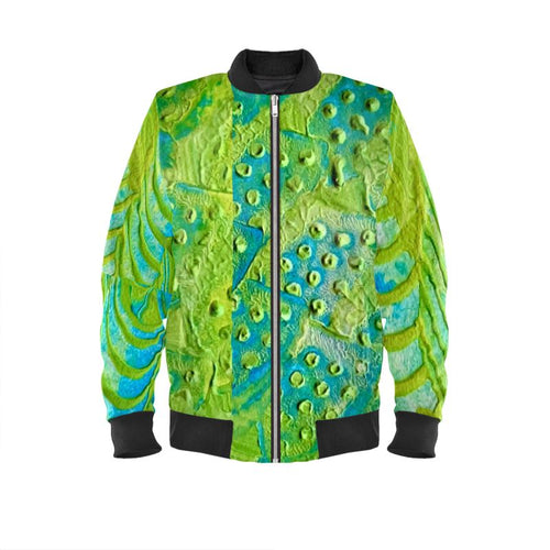 Men's Bomber Jacket  Out of the Woods collage