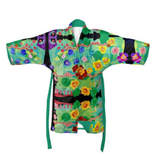 Load image into Gallery viewer, Forest Rock Garden mirror kimono