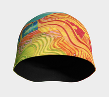 Load image into Gallery viewer, Beanie hat/cap--Pastel Pearls Collage