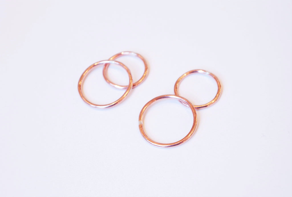 Thick Copper Stacking Ring