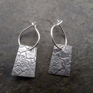 Indra Earrings Sterling Silver