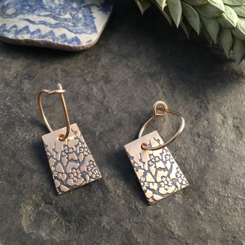 Indra Earrings 14k Gold Fill