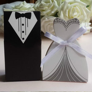 10Pcs Wedding Favors Box (for candies and small items)
