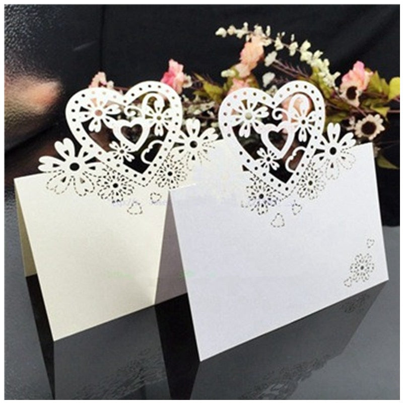 25pcs/lot Guest Name Table Placard