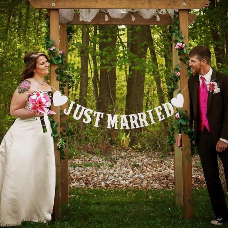 Photo Staging or Wedding Reception Decor Banner