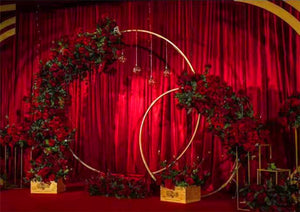 Wedding Arch Background Iron Prop DIY (Does Not Come with Custom Name Background)