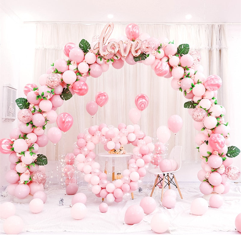 Metal Iron Arch Wedding Backdrop stand (Does not come with Custom Name Background)