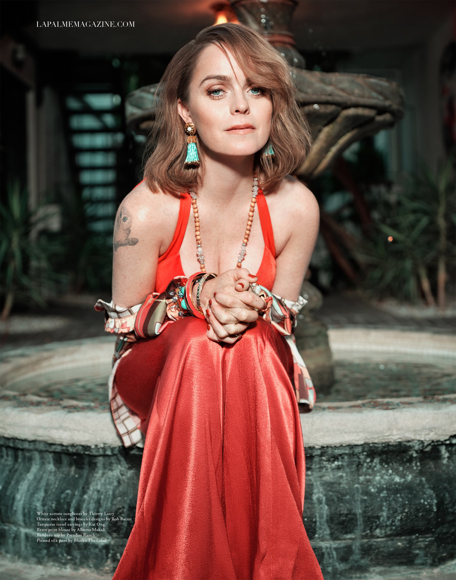 Actress Taryn Manning Wears Paradise Ranch Designs in LaPalme Magazine