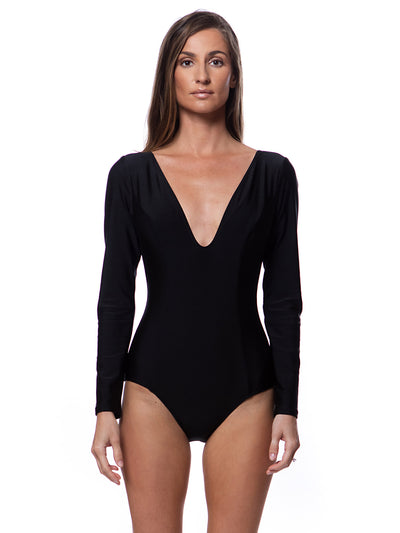 Got Your Back with Sleeves One Piece