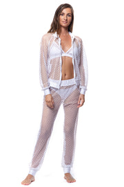 Resort Fishnet Cruise Pant