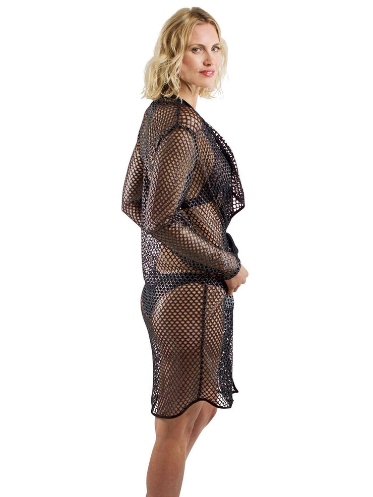 Resort Fishnet Cover Up