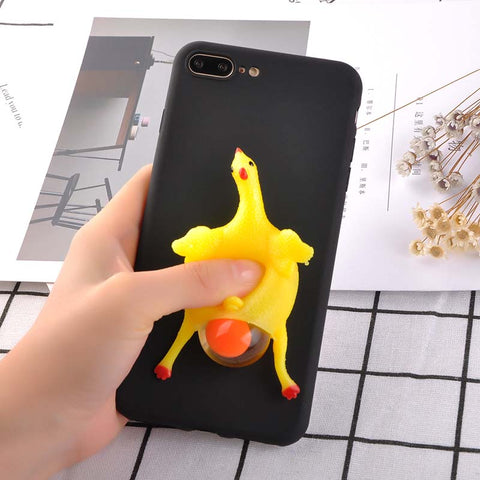 3D Squishy Chicken Phone Case
