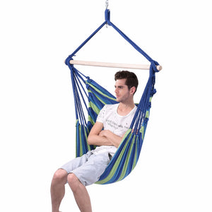 Hanging Cotton Rope Swing Hammock