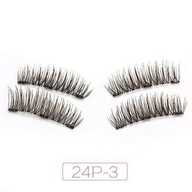 Magnetic 3D False Eyelashes