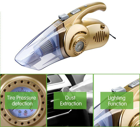 Image of Multi-function Wet / Dry Car Vacuum Cleaner