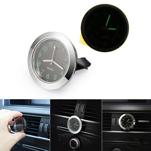 Luminous Car Air Vent Quartz Clock