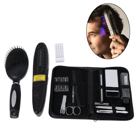 Hair Brush Laser Treatment Power Grow Comb Kit
