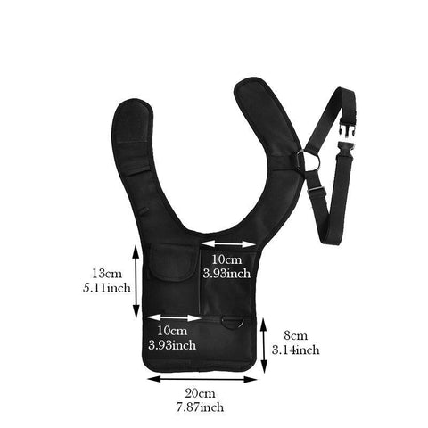 Image of Travel Anti-Theft Hidden Underarm Holster Bag