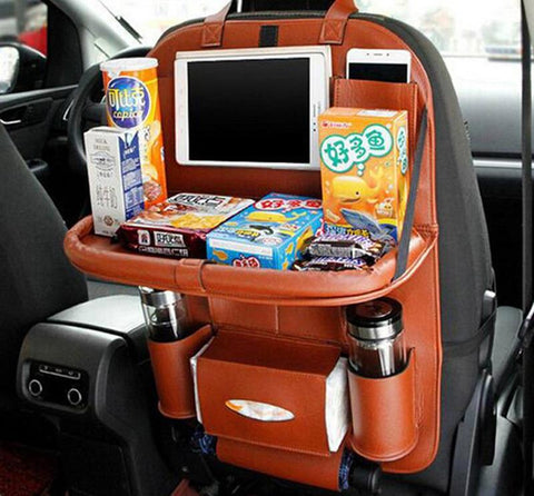 Image of Car Seat Back Hanging Organiser Storage Holder