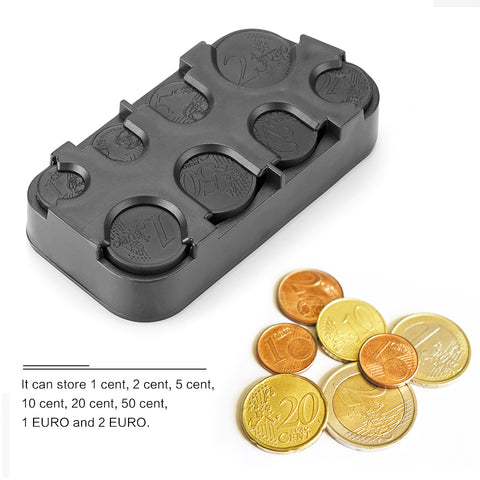 Car Interior Coin Organiser Storage Container