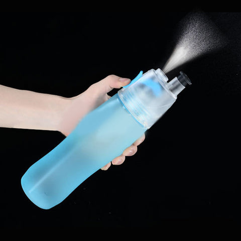 Image of Mist Spraying Water Bottle