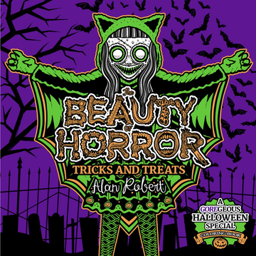 Beauty of Horror: Tricks and Treats Halloween Coloring Book