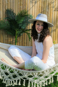 Jump Into Vacay White Jumpsuit