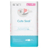 Cute Seal - Canadian Premium Baby Diapers - Extra Large - 48pcs (Pant Type / Pull-ups Type) - XL