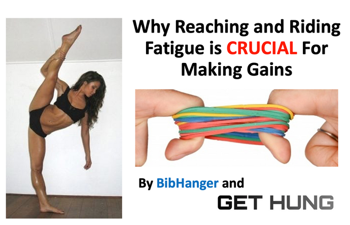 Why Reaching and Riding Fatigue is CRUCIAL For Making Gains - BibHanger