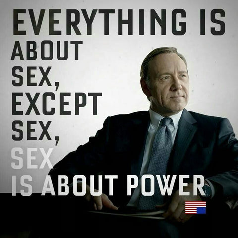 Everything in life is about sex and power so penis enlargement is useful
