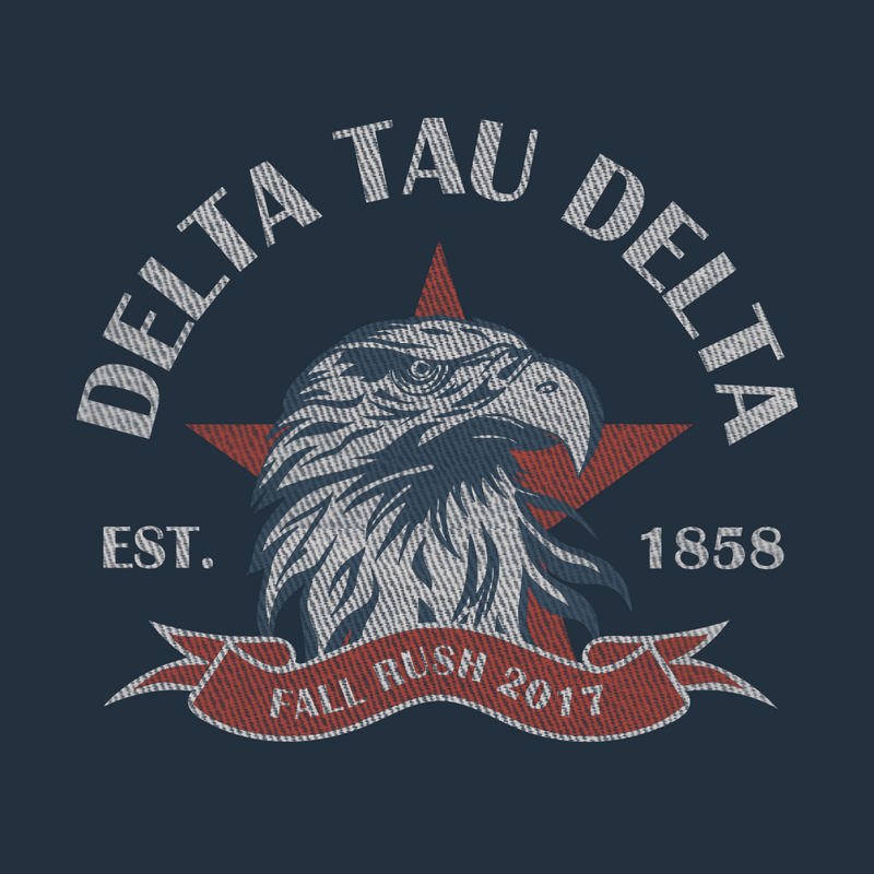 Delta Tau Delta Rush Eagle Design