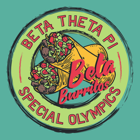 Beta Theta Pi Burrito Bash Design
