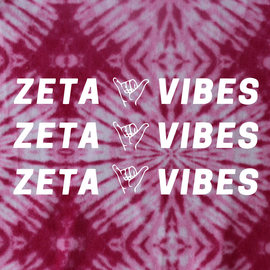 Zeta Vibes Hang Loose Design
